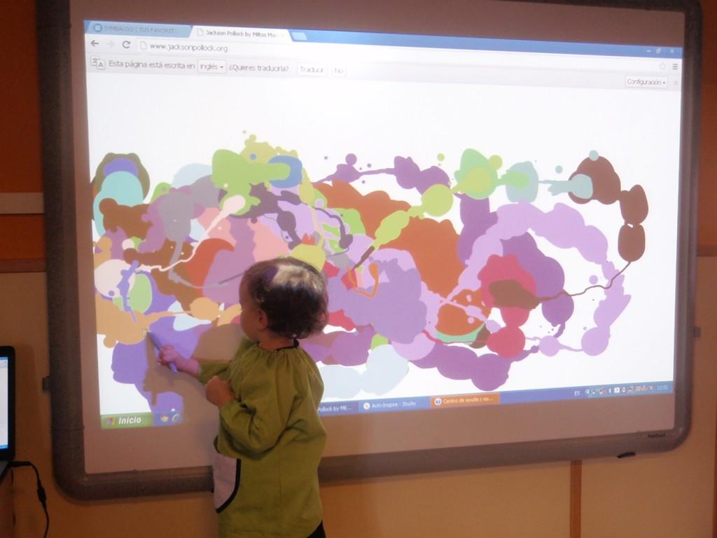P1010006-1024x768 ¿Qué hace Pollock en #educacióninfantil?