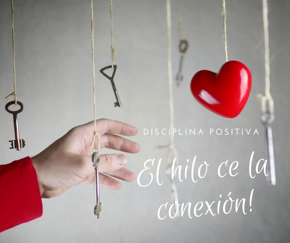 El-hilo-ce-la-conexión Disciplina Positiva en Canarias