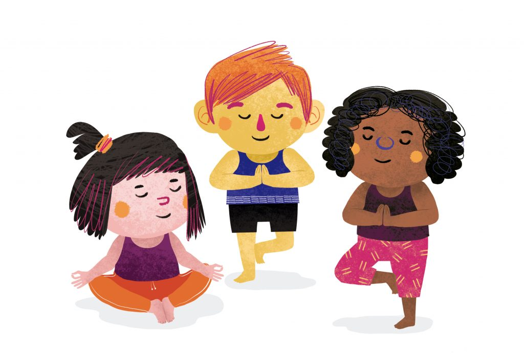 1_ninos-haciendo-yoga-1024x693 Sentirse seguros ¡Todo irá bien!
